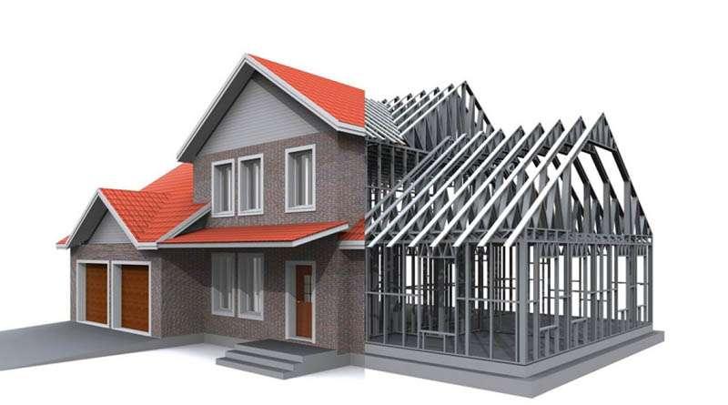 Особенности строительства домов из стали