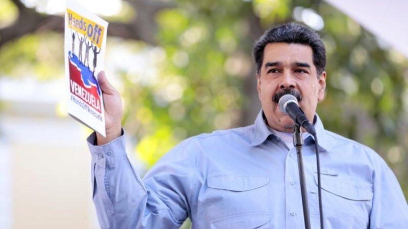 Мадуро выразил соболезнования в связи с крушением вертолета с военными в Венесуэле