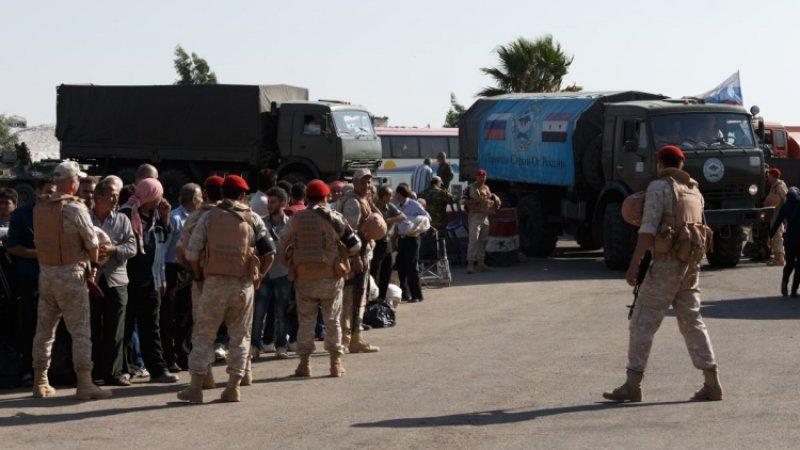 Военная полиция РФ провела за все время в Сирии более двух тысяч гумакций