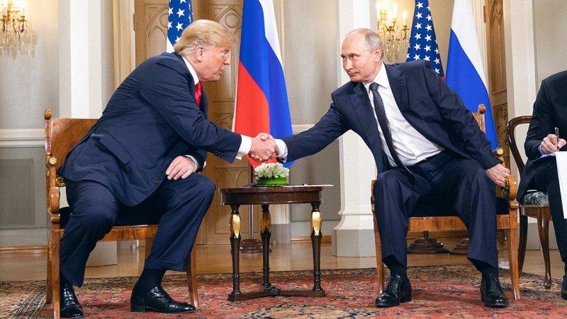 Трамп хочет встретиться с Путиным