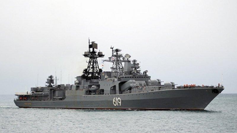 Британский фрегат сопроводил в Ла-Манше российский противолодочный корабль