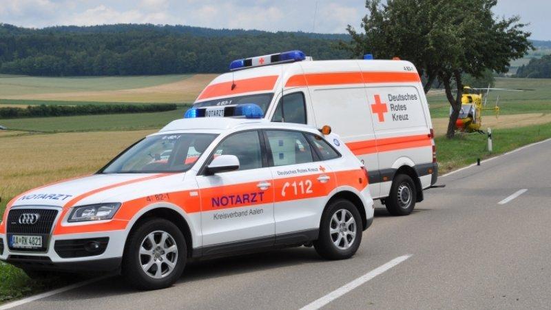 Пассажирский автобус опрокинулся в Германии, есть жертвы и пострадавшие