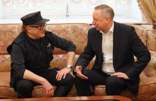Беглов обсудил сШемякиным вопросы культуры