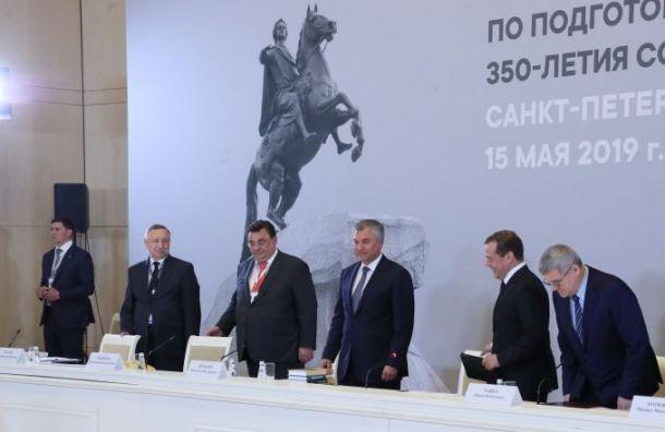 Беглов рассказал оподготовке Петербурга к350-летию Петра I