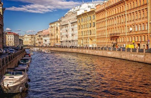 Водные пути вцентре Петербурга перекроют на9мая