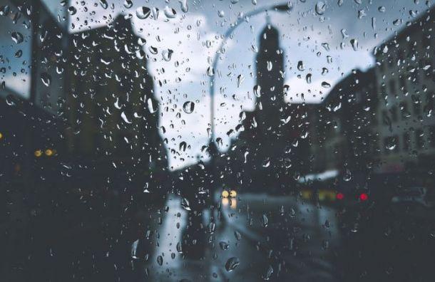 Неделя вПетербурге закончится дождями игрозами