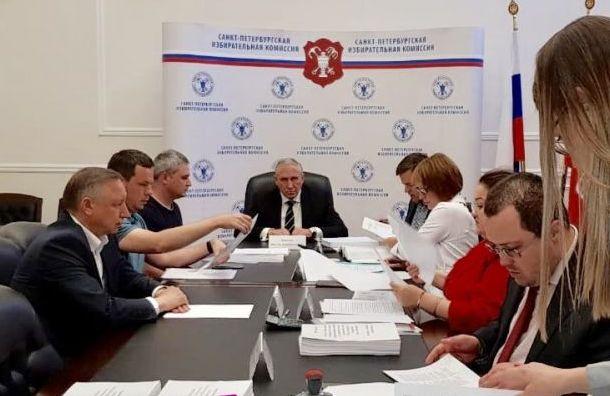 Беглов подал подписи вГоризбирком