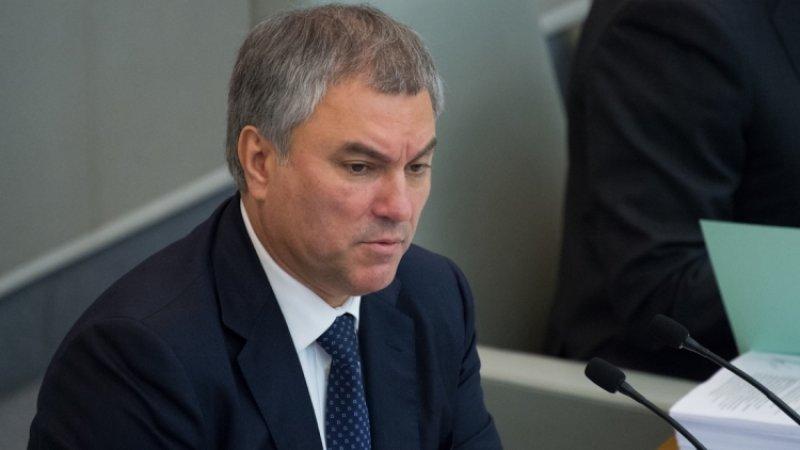 Володин заявил, что Сербия может рассчитывать на помощь России