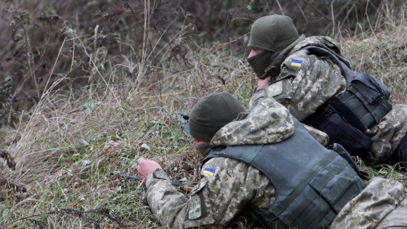 Украинский снайпер «разорвал» ствол американской винтовки