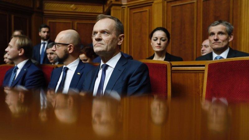 Туск считает «сильным сигналом»визит Зеленского в Брюссель