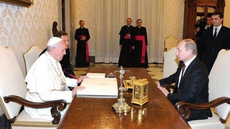 Кремль подтвердил подготовку визита Путина в Ватикан
