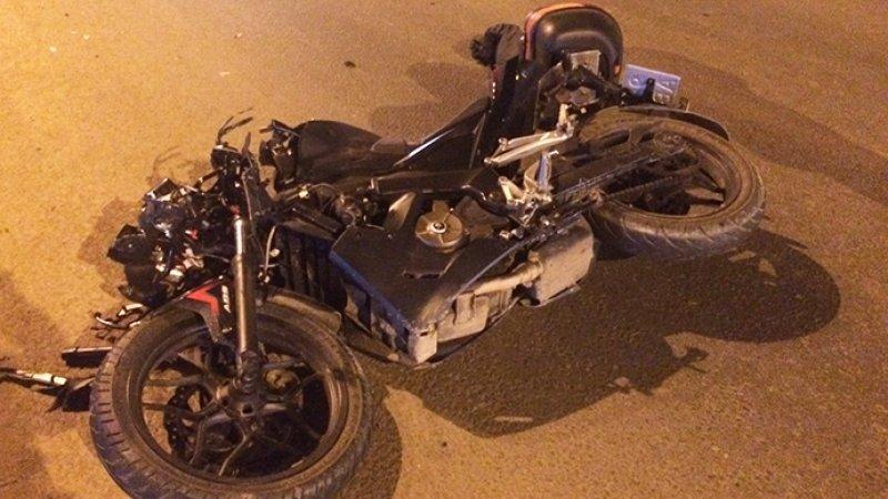 Мотоциклист упал в обрыв с высоты 20 метров и выжил