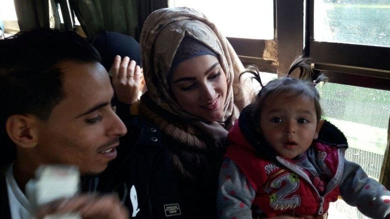 Более тысячи беженцев вернулись в Сирию за сутки