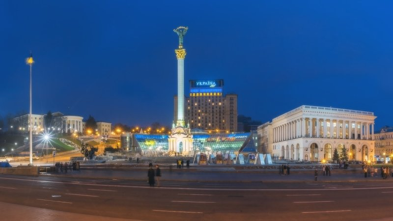 Взрыв раздался в центре Киева