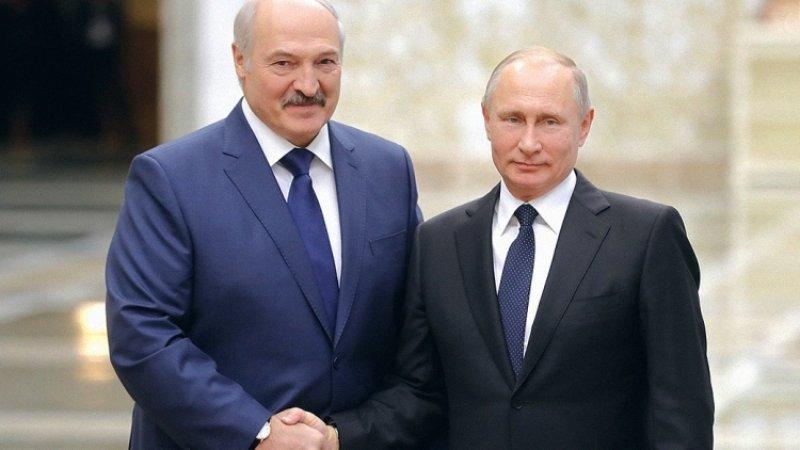 Путин и Лукашенко обсудили вопросы двустороннего сотрудничества