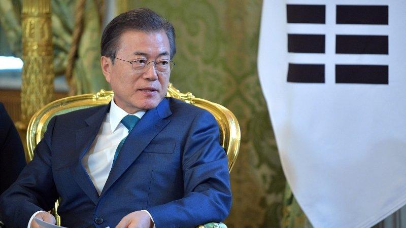 Президент Южной Кореи согласился поехать с Трампом в демилитаризованную зону