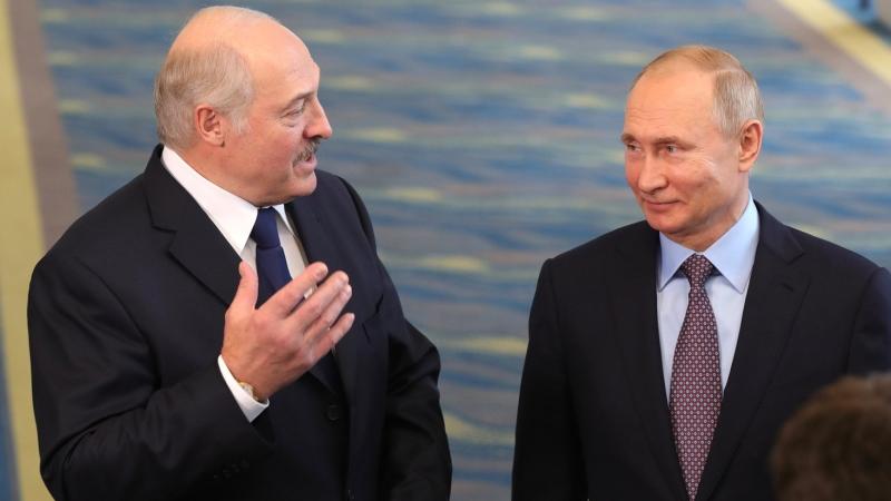 Главы Белоруссии и Киргизии поздравили Путина с Днем России