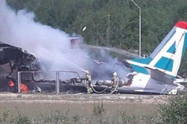Пилоты погибли при аварийной посадке АН-24 вБурятии