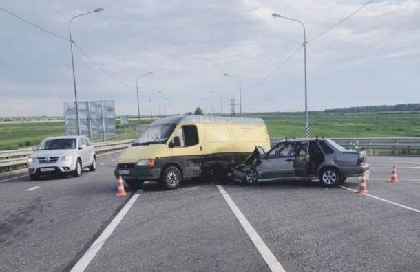 Пассажирка ВАЗа погибла после столкновения сфургоном вЛенобласти