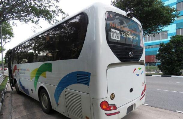 Туристические автобусы смогут бесплатно парковаться вПетергофе