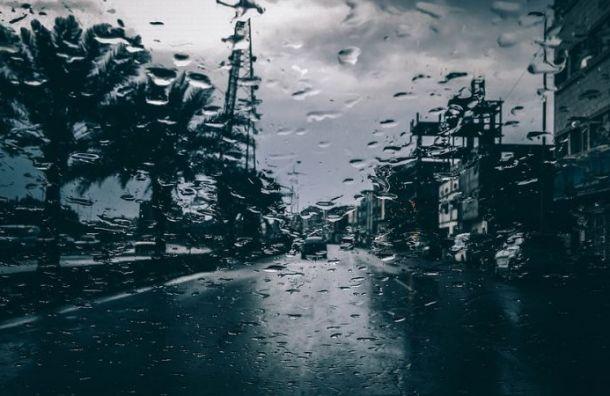 Дожди вернутся вПетербург впонедельник