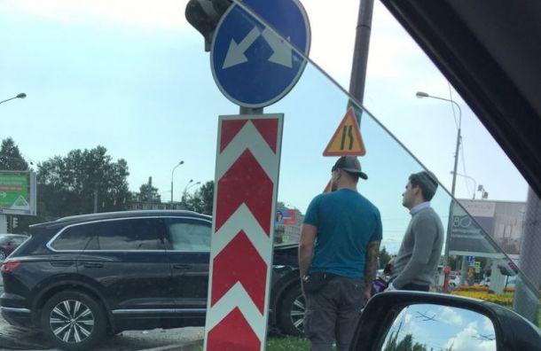 Два человека пострадали вДТП наНародной улице