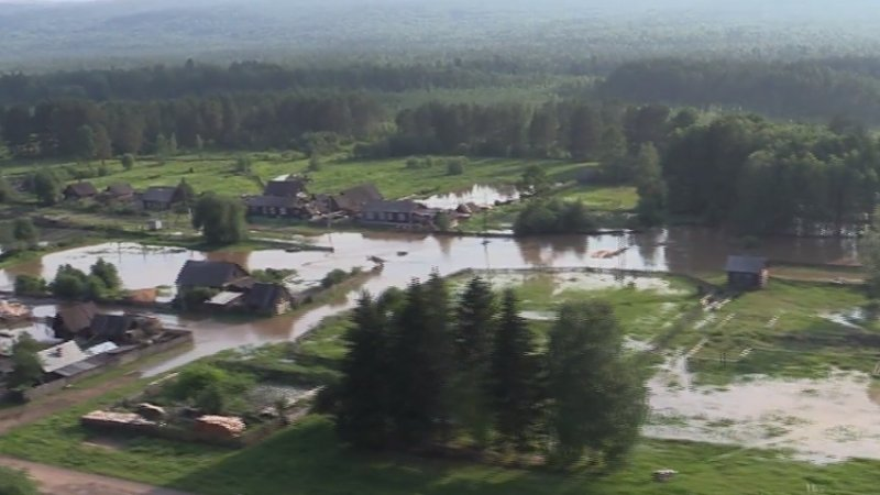 Более 180 человек эвакуированы в Канске из-за повышения уровня воды