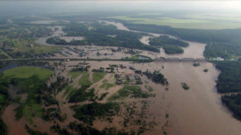 Более 190 человек госпитализированы из-за паводка в Иркутской области