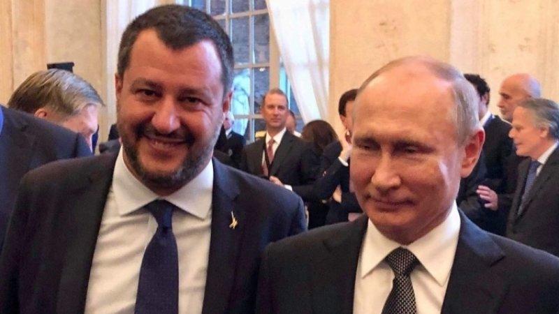 Путин оставит след в истории, заявил вице-премьер Италии Сальвини