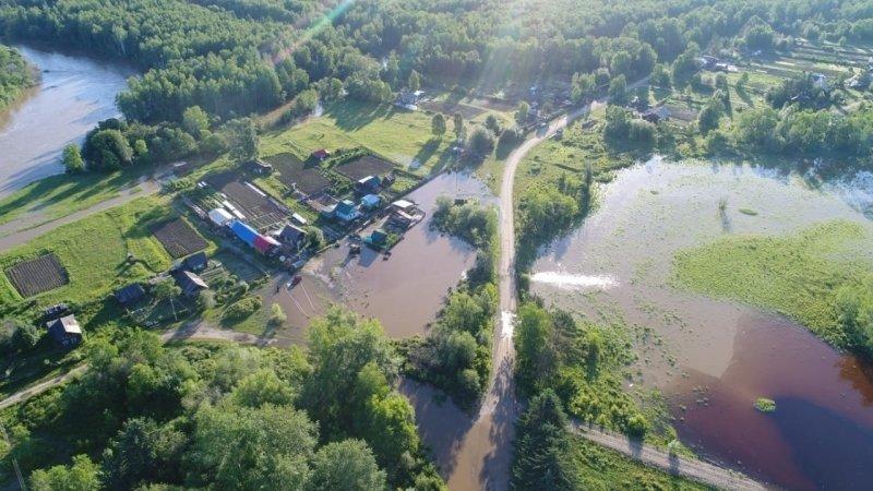 Уровень воды в реках Приангарья неуклонно падает