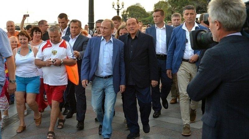 Берлускони намерен работать для отмены антироссийских санкций