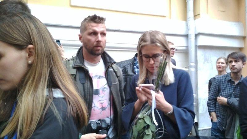 Соболь повторно задержана после попытки побега из отделения