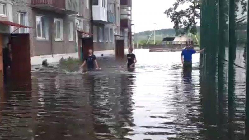 Режим ЧС введен в Благовещенске из-за паводка