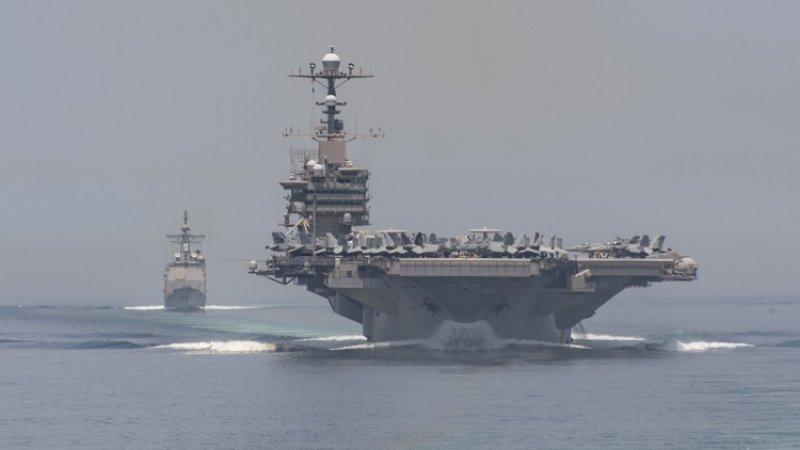 США сбили иранский дрон с помощью новейшей системы вооружения