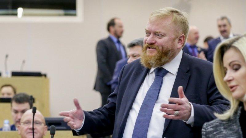 «Ликвидировать» незаконный митинг в Москве призвал депутат Милонов