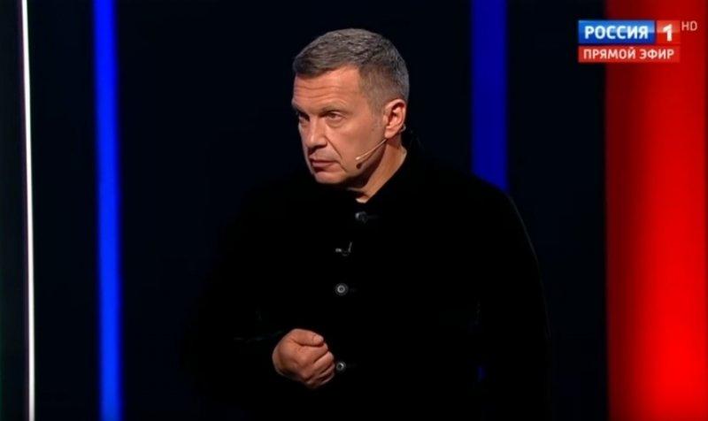 Соловьев назвал смешной численность массовки Навального на митинге в Москве