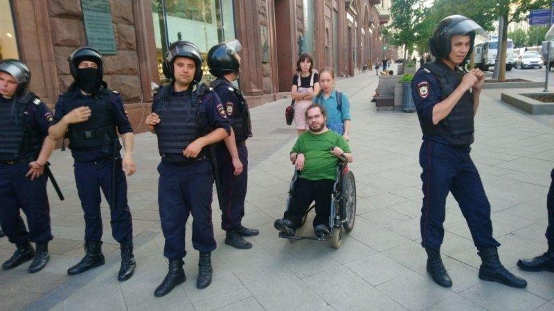 Вассерман призвал наказать провокаторов, приведших детей и инвалидов на незаконный митинг