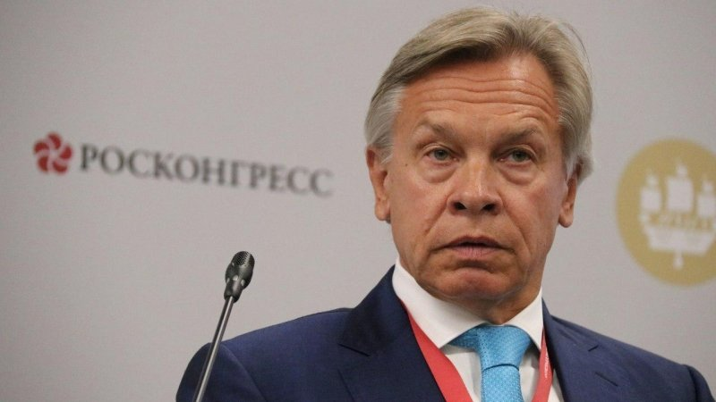 Пушков ответил на слова Помпео о вмешательствах РФ в американские выборы
