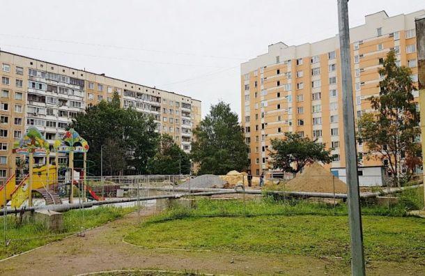 Ремонт теплосетей в двух районах Петербурга завершат раньше срока