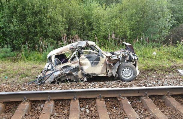Пассажирский поезд сбил