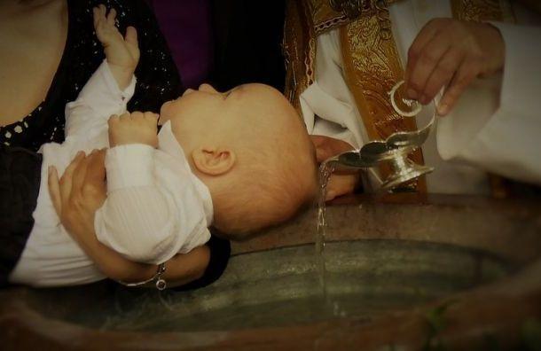 Полиция проверит жалобу накрещение ребенка Гатчинским священником