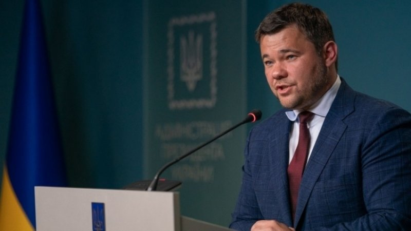 Глава офиса президента Украины Андрей Богдан подал в отставку