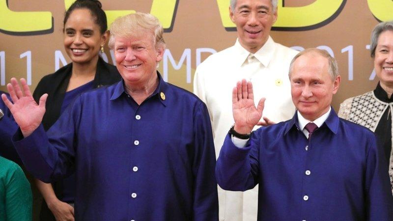 Трамп высоко оценил недавний телефонный разговор с Путиным