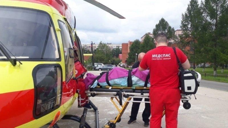 Двух пострадавших при взрывах под Ачинском отправили авиацией в Красноярск