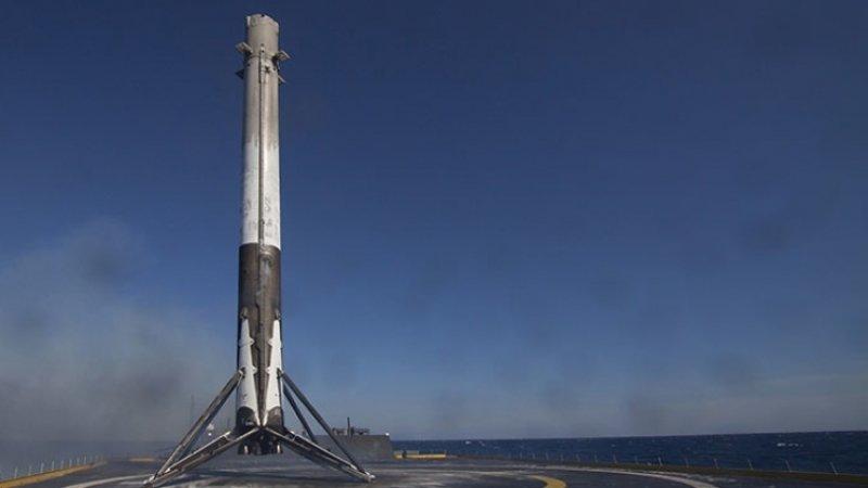 Ракета Falcon 9 стартовала с коммуникационным спутником