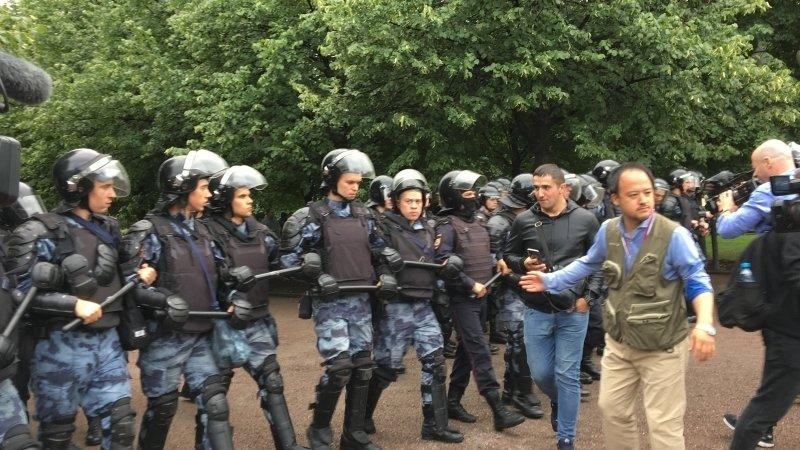 Власти Москвы предупредили о возможных провокациях на акции оппозиции 10 августа