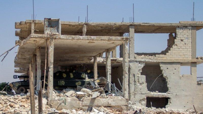 Видео освобожденного сирийского Хан-Шейхуна появилось в сети