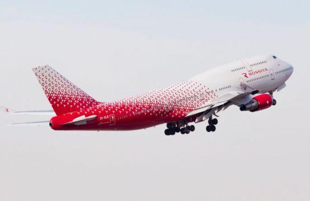 Мужчина показал гениталии пассажирам самолета, летевшего вПетербург
