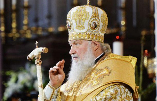 Патриарх Кирилл возглавит вПетербурге Всенощное бдение
