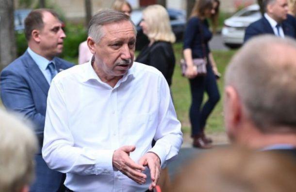Беглов потратил наизбирательную компанию более 28 млн рублей